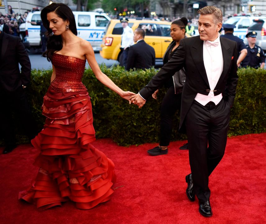 Met-Ball-George-Amal-Clooney-15-05-04-dpa - Bildquelle: dpa