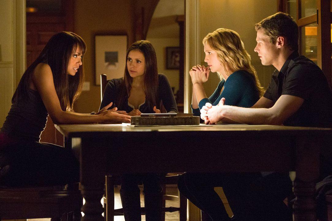 Bonnie, Elena, Caroline und Matt  - Bildquelle: Warner Bros. Entertainment Inc.