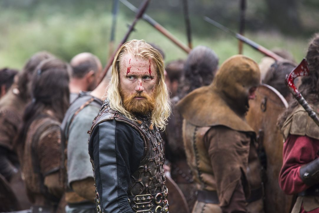 Werden er und seine Männer, den Kampf gegen Ragnar und seine Truppe, gewinnen? Jarl Borg (Thorbjorn Harr) ... - Bildquelle: 2014 TM TELEVISION PRODUCTIONS LIMITED/T5 VIKINGS PRODUCTIONS INC. ALL RIGHTS RESERVED.