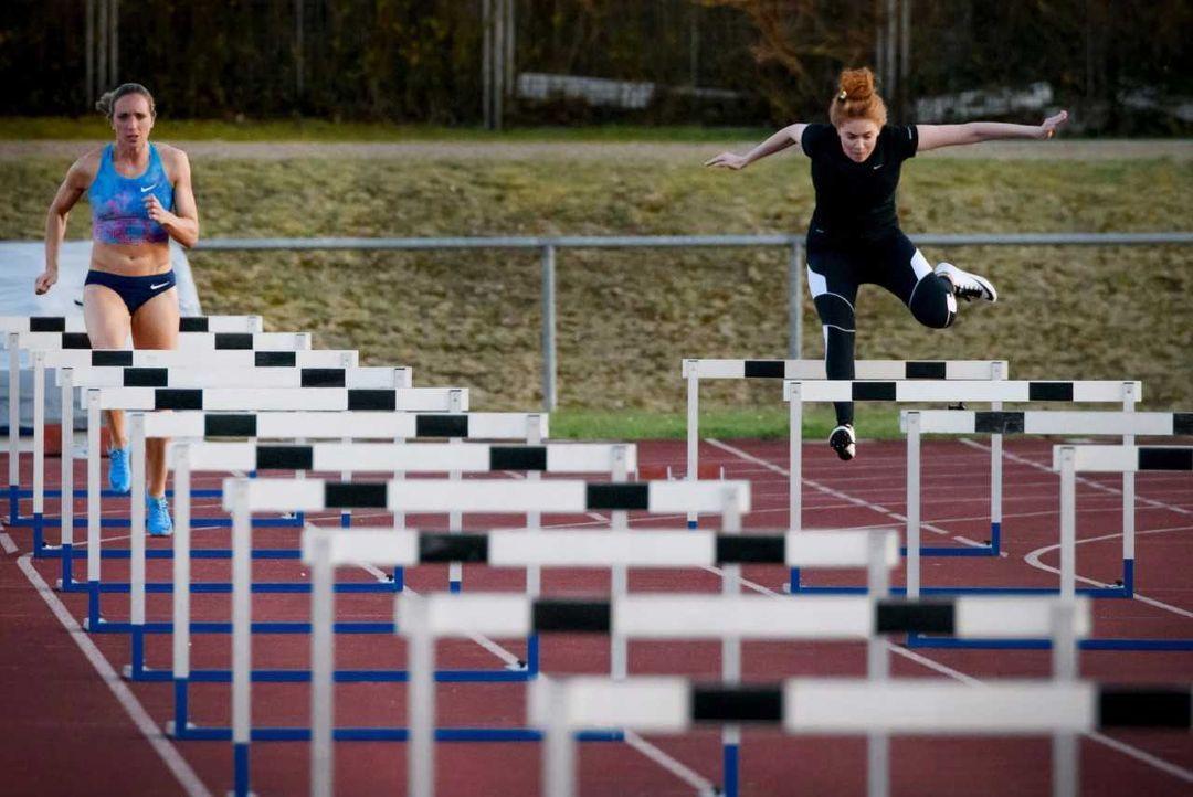 Palina gibt alles beim Hürdenlauf! - Bildquelle: ProSieben/Jens Hartmann