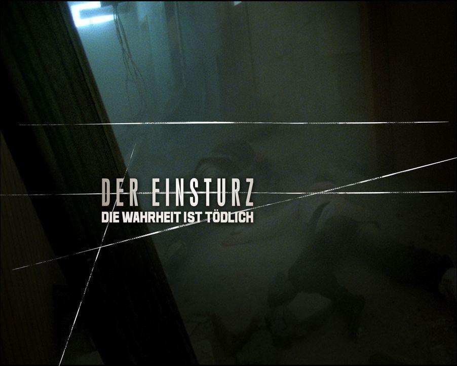 EINSTURZ, DER - DIE WAHRHEIT IST TÖDLICH - Logo - Bildquelle: SAT.1
