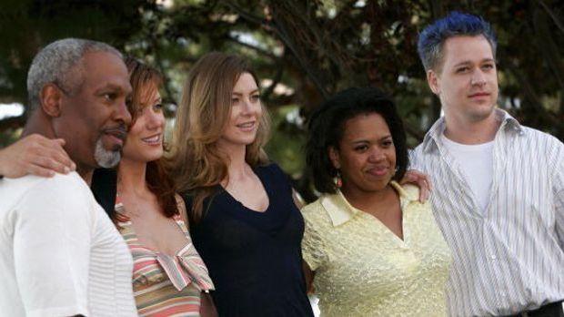 Der Cast der ersten Staffeln aus Grey's Anatomy