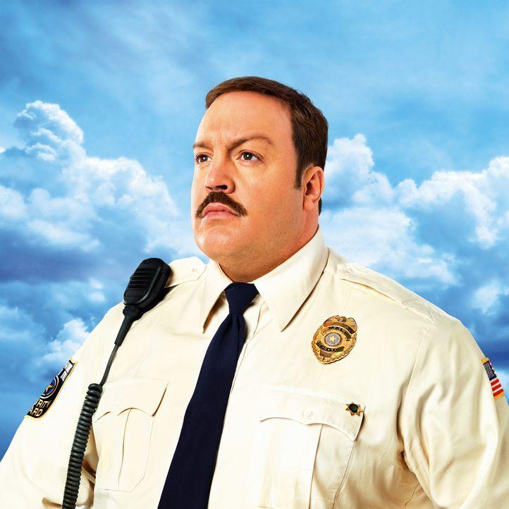 Eigentlich wollte Paul Blart (Kevin James) Polizist werden, jedoch verhindern Übergewicht und andere gesundheitliche Probleme seine Karriere. Nun a... - Bildquelle: 2009 Columbia Pictures Industries, Inc. and Beverly Blvd LLC. All Rights Reserved.