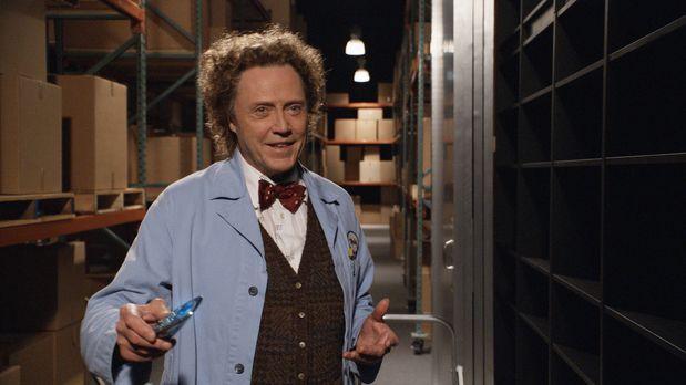 Klick - Der exzentrische Erfinder Morty (Christopher Walken) betreibt ein Ele...