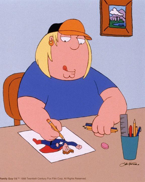 (4. Staffel) - Chris ist das Ebenbild seines Vaters: leicht übergewichtig und von dümmlicher Gutmütigkeit. - Bildquelle: TM +   2005 Twentieth Century Fox Film Corporation. All Rights Reserved.