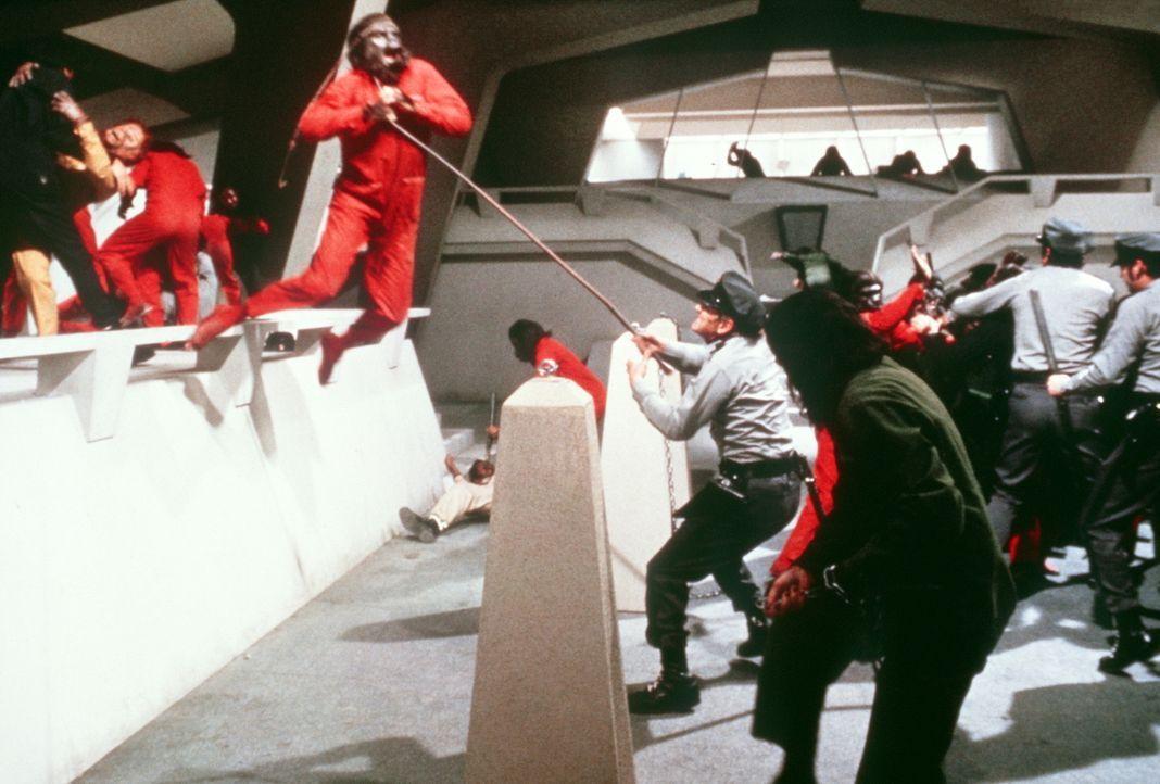 Der Aufstand bricht los und die Miliz schlägt erbarmungslos zurück ... - Bildquelle: Twentieth Century-Fox Film Corporation