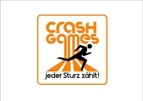 Crash Games - jeder Sturz zählt - Crash Games - jeder Sturz zählt - Logo - Bi...
