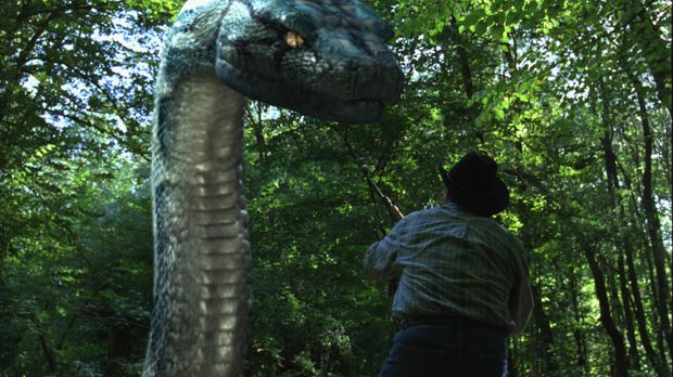 Als in einem privaten Wildpark eine riesige Python ausbricht, lässt das FBI e...