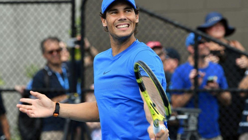 Rafael Nadal ist zuversichtlich und schmerzfrei - Bildquelle: AFP SIDSAEED KHAN