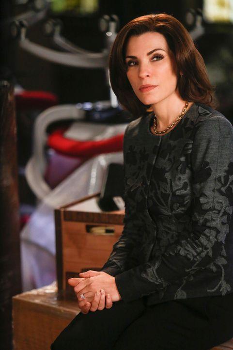 Alicia (Julianna Margulies) möchte die Ausweisung eines Mexikaners verhindern, dem in Mexiko der sichere Tod droht ... - Bildquelle: Craig Blankenhorn 2013 CBS Broadcasting Inc. All Rights Reserved.