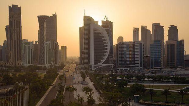 Hauptstadt Doha (Katar)