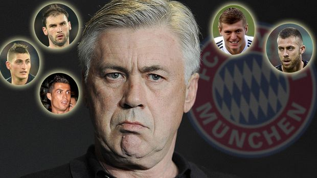 diese stars k nnte ancelotti zum fc bayern locken. Black Bedroom Furniture Sets. Home Design Ideas