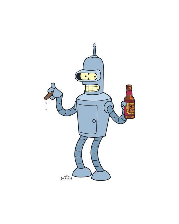 (7. Staffel) - Bender ist ein Roboter mit großem Herz und allzu menschlichen Schwächen ... - Bildquelle: 2003 Twentieth Century Fox Film Corporation. All rights reserved.