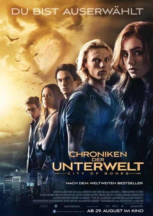 CHRONIKEN DER UNTERWELT - CITY OF BONES - Plakatmotiv - Bildquelle: 2013 Constantin Film Verleih GmbH.