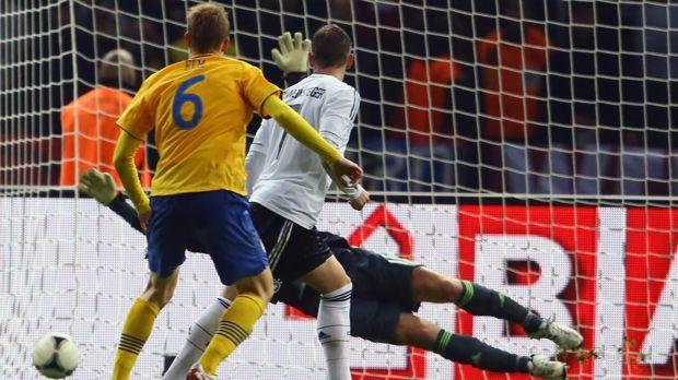 16. Oktober 2012: Deutschland - Schweden 4:4 - Bildquelle: 2012 Getty Images