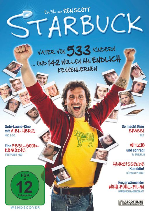 Starbuck - Cover - Bildquelle: Ascot Elite Home Entertainment GmbH