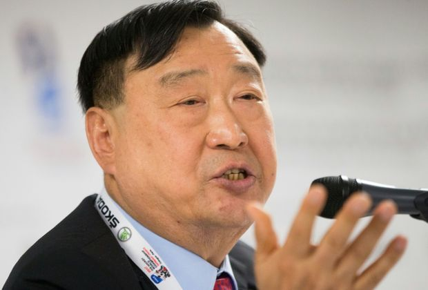 Wollte Russland bei Olympia in Südkorea: Lee Hee-Bum