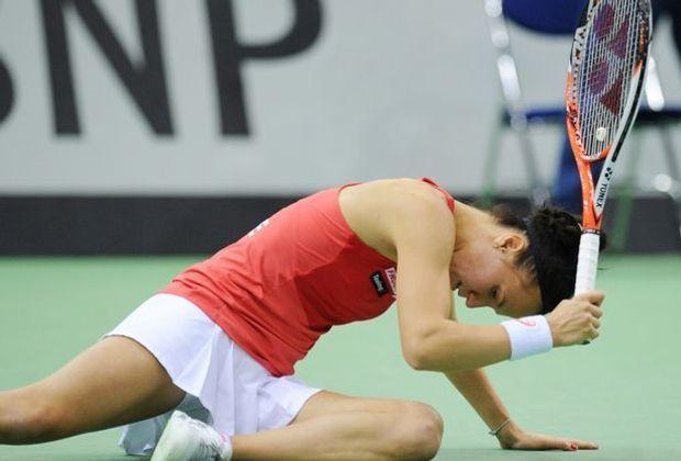 Die Schweizerinnnen scheitern im Fed-Cup-Halbfinale