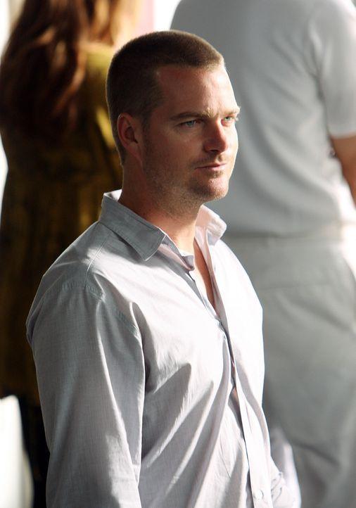 Wird mit einer Frau aus seiner Vergangenheit konfrontiert: Callen (Chris O'Donnell) ... - Bildquelle: CBS Studios Inc. All Rights Reserved.