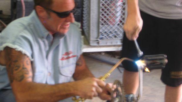 Rick Dale macht in Las Vegas aus alten Dingen, die irgendwo auf dem Dachboden...