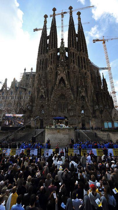 La Sagrada Familia - Bildquelle: AFP