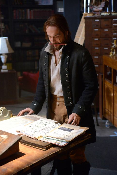 Versucht das Böse zu eliminieren - doch wird es Ichabod Crane (Tom Mison) gelingen? - Bildquelle: 2014 Twentieth Century Fox Film Corporation. All rights reserved.
