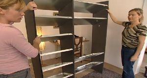 schuhregal selber bauen ideen und praktische tipps sat 1. Black Bedroom Furniture Sets. Home Design Ideas