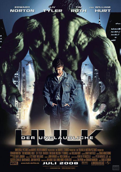 Der unglaubliche Hulk - Plakatmotiv - Bildquelle: 2008 Marvel Entertainment, Inc. And ist subsidiaries. All Rights Reserved.