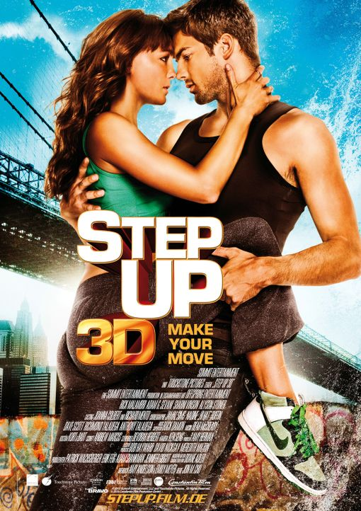 STEP UP 3 - MAKE YOUR MOVE - Plakatmotiv - Bildquelle: Constantin Film