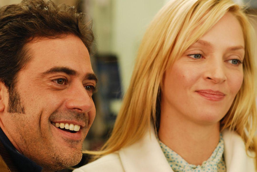 Durch einen racheplan sind Patrick (Jeffrey Dean Morgan, l.) und Emma (Uma Thurman, r.) zufällig verheiratet. Als sie sich näher kennenlernen, ger... - Bildquelle: 2008 Accidental Husband Intermediary, Inc. All Rights Reserved.