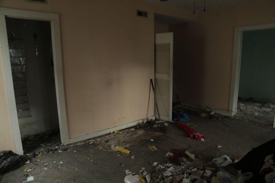 Neben aufwändigen Renovierungsarbeiten steht vorher erstmal Entrümpeln und Putzen auf dem Plan. Wie das Haus wohl aufgeräumt und frisch renoviert au... - Bildquelle: 2017,HGTV/Scripps Networks, LLC. All Rights Reserved