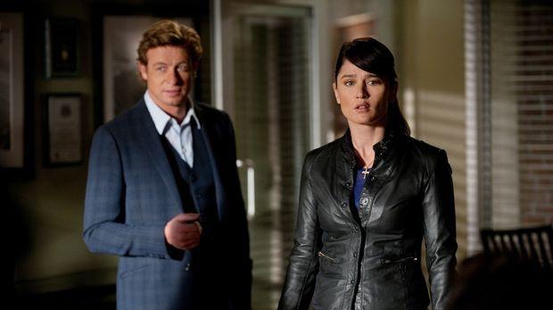 Ein neuer Fall wartet auf Teresa (Robin Tunney, r.) und Patrick (Simon Baker,...