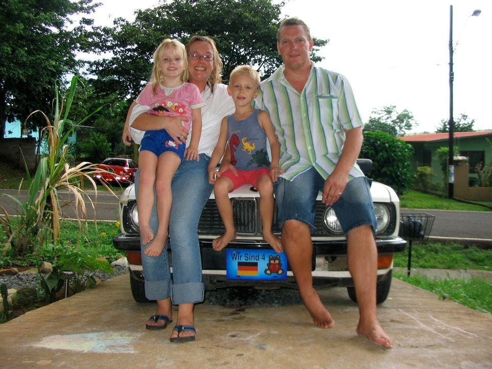 Thomas und Katja Keller haben mit ihren Kindern vor einem Jahr den Schritt nach Panama gewagt - im Gepäck nur eine vage Vorstellung von dem neuen Le... - Bildquelle: kabel eins