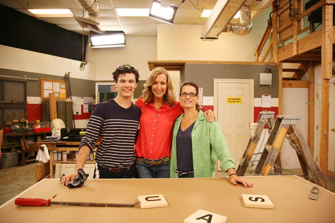 (7. Staffel) - (v.l.n.r.) Matthew Karrigan; Nancy Karrigan; Lara Spencer - Bildquelle: 2016,HGTV/Scripps Networks, LLC. All Rights Reserved