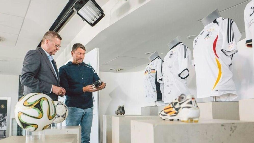 Der DFB hatte den Vertrag mit adidas bis 2026 verlängert - Bildquelle: adidasadidasSID
