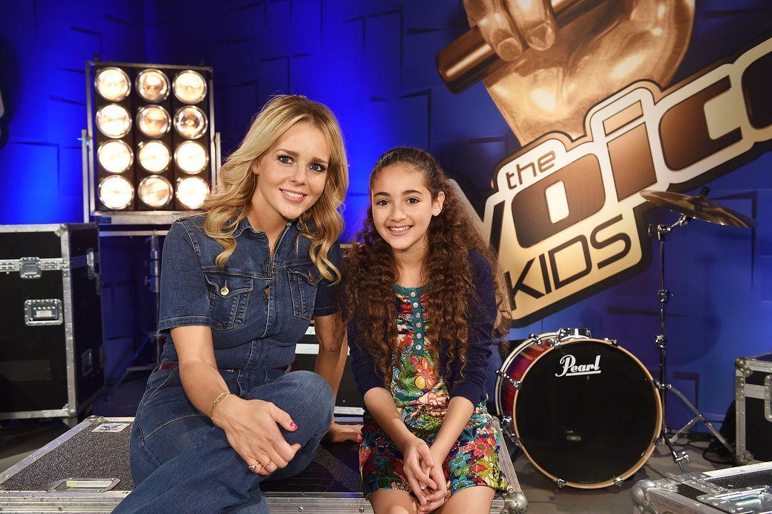 The-Voice-Kids-Stf04-Epi03-Hala-04-SAT1-Andre-Kowalski - Bildquelle: SAT.1/ André Kowalski