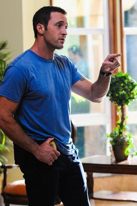 Gibt alles, um einen neuen Fall zu lösen: Steve (Alex O'Loughlin) ... - Bildquelle: 2013 CBS BROADCASTING INC. All Rights Reserved.