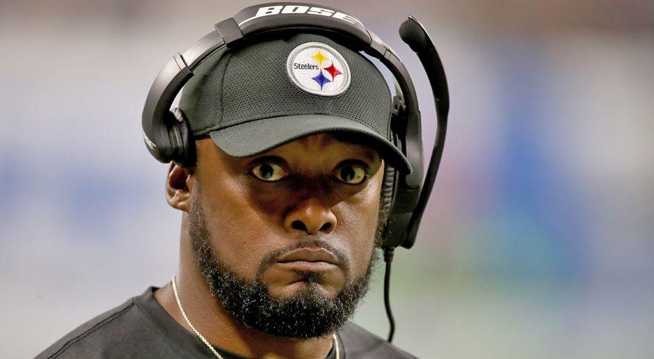 Platz 5: Mike Tomlin (Pittsburgh Steelers) - Bildquelle: getty images