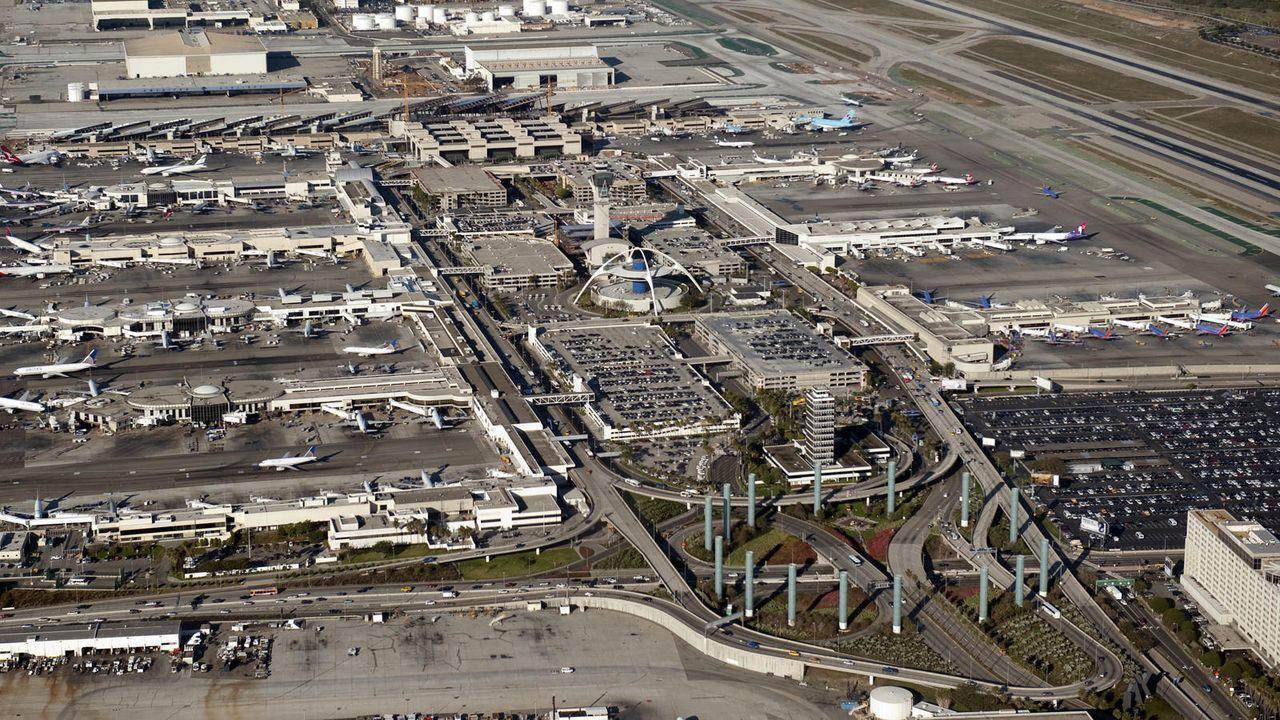Los Angeles International Airport - Bildquelle: AFP / Saul LOEB