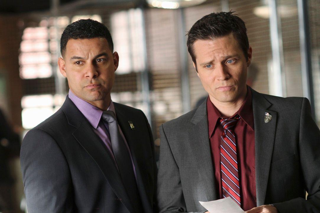 Der aktuelle Fall bereitet Javier Esposito (Jon Huertas, l.) und Kevin Ryan (Seamus Dever, r.) Kopfzerbrechen ... - Bildquelle: ABC Studios
