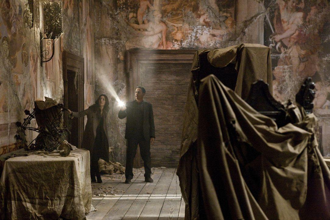 """Während die Weltöffentlichkeit auf den Vatikan schaut und auf """"weißen Rauch"""" hofft, entführt ein Fanatiker vier der aussichtsreichen Papst-Kandidate... - Bildquelle: 2009 Columbia Pictures Industries, Inc. All Rights Reserved."""