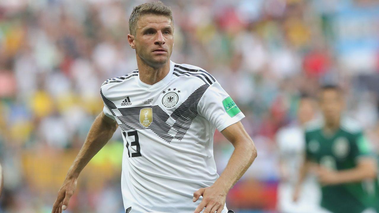 Mittelfeld: Thomas Mueller - Bildquelle: 2018 Getty Images