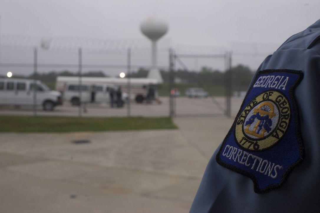 Neue Insassen werden ins Georgia Diagnostic and Classification Gefängnis in Jackson eingeliefert ... - Bildquelle: Josh Fowler part2pictures