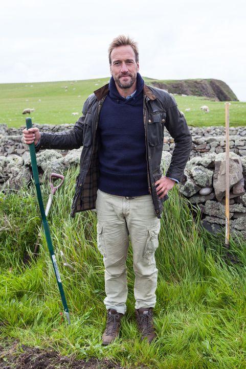 Abenteurer Ben Fogle besucht Menschen, die der Zivilisation entflohen sind, um am Ende der Welt zu wohnen ... - Bildquelle: Jo Young 2015 BBC / Renegade Pictures