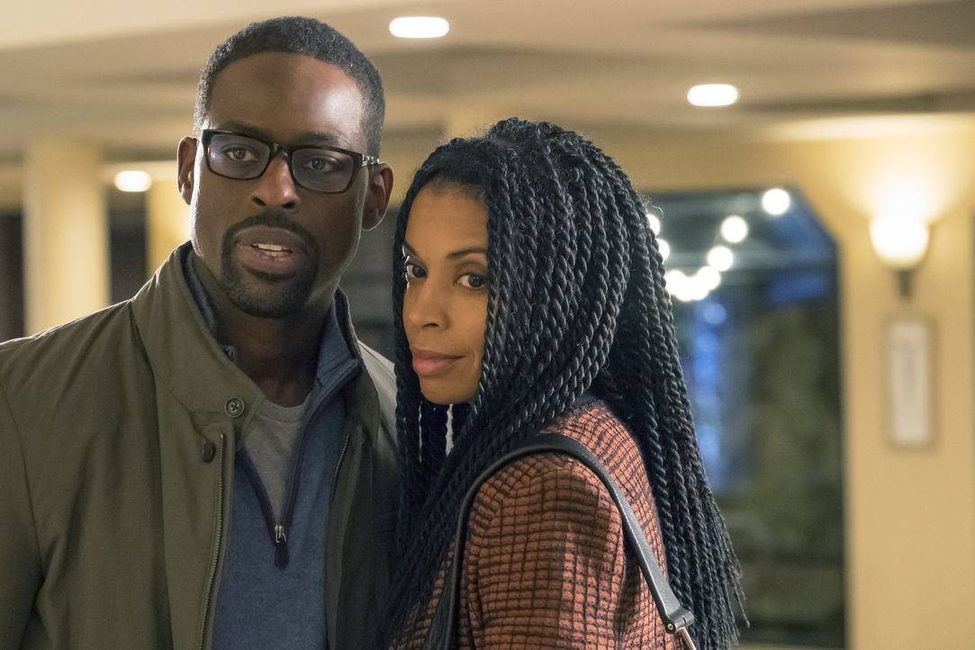 (v.l.n.r.) Randall (Sterling K. Brown); Beth (Susan Kelechi Watson) - Bildquelle: Ron Batzdorff 2017-2018 NBCUniversal Media, LLC.  All rights reserved.