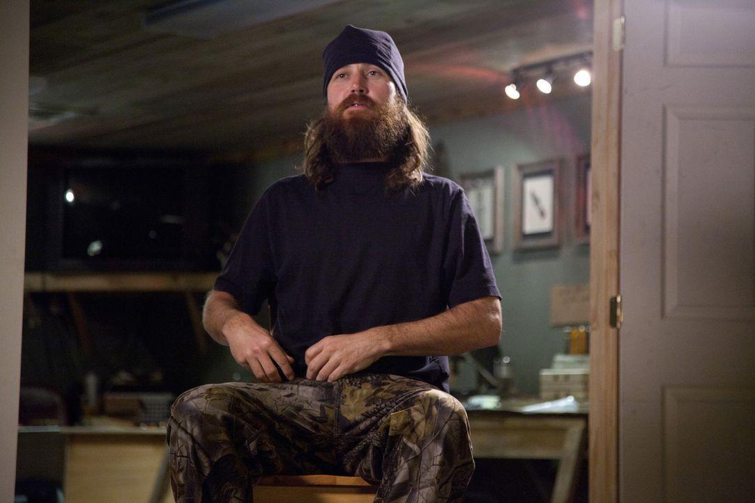 Sein Bruder Willie hat mit Jase (Jase Robertson) gewettet, dass er die Verantwortung, Geschäftsführer zu sein, nicht einen einzigen Tag durchstehe... - Bildquelle: Zach Dilgard 2012 A+E Networks