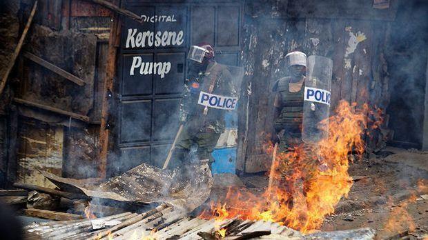 Nach der Wahl in Kenia