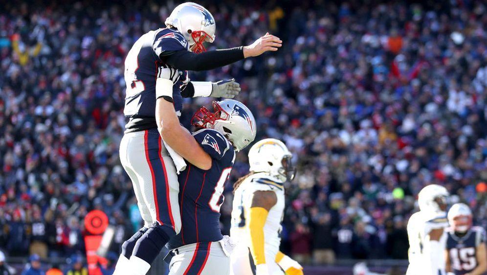 Tom Brady hatte mit den New England Patriots gegen die Los Angeles Chargers ... - Bildquelle: Getty Images