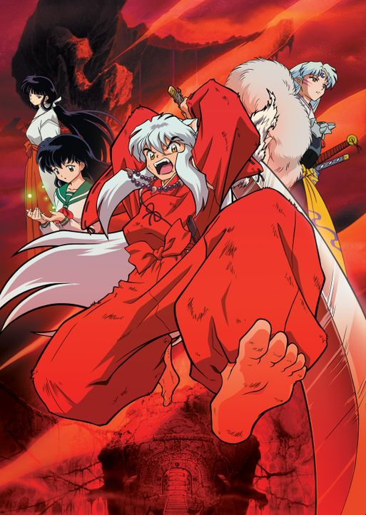 Inuyasha: Fire on the Mystic Island - Artwork - Bildquelle: 2004 Rumiko Takahashi / Shogakukan-YTV-Sunrise-ShoPro-NTV-Toho-Yomiuri-TV Enterprise All Rights Reserved