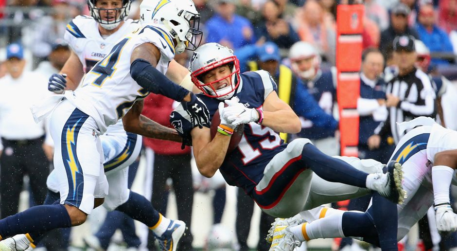 Chris Hogan (New England Patriots) - Bildquelle: 2017 Getty Images